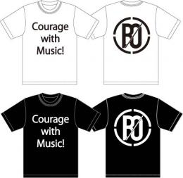 「BACK-ON」 Courage with Music!Tシャツ