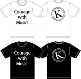 「KATSUMI」 Courage with Music!Tシャツ