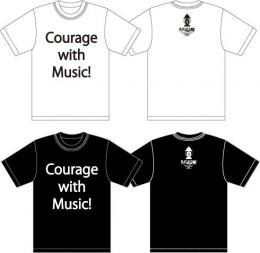 「ET-KING」 Courage with Music!Tシャツ