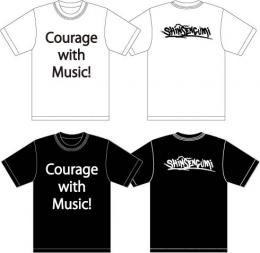 「SHiNSENGUMi」 Courage with Music!Tシャツ