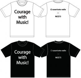 「casaricoto radioxNICE73 Wネーム」Courage with Music!