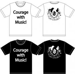 「LAVENiROC」 Courage with Music!Tシャツ