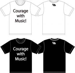 「Suspended 4th」 Courage with Music!Tシャツ